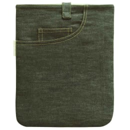 """Clean Planet Denim Sleeve for 9"""" Tablets (TABSLEEVE02, Green)_1"""