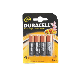 Duracell AA Alkaline Battery (Black/Gold) (Pack of 4)_1