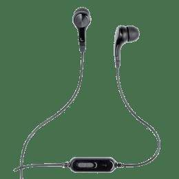 Logitech In-Ear Wired Earphones with Mic (H165, Black)_1