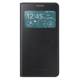 Samsung Galaxy Grand 2 Leather Flip Case Cover (EF-CG710BBEGIN, Black)_1
