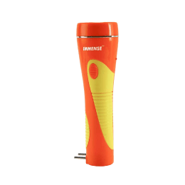 Immense LED Rechargeable Torch (Orange/Yellow)_1
