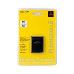 Sony PS2 8 MB Memory Card (Black)_1