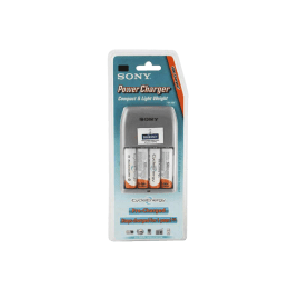 Sony CEB 4 x AA 2200 mAh Battery Charger (White)_1