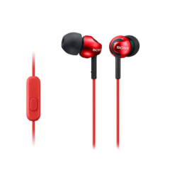 Sony In-Ear Wired Earphones with Mic (MDR-EX110AP, Red)_1