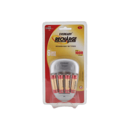 Eveready Battery Charger with 2100 Series AA Battery (2100, As Per Stock Availability)_1