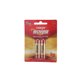 Eveready AA Rechargeable Battery (2100, Red/Gold) (Pack of 2)_1