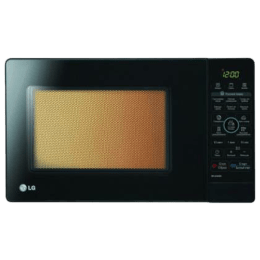 LG 23 Litre Intellowave Technology Microwave Grill (MH-6348BS, Black)_1