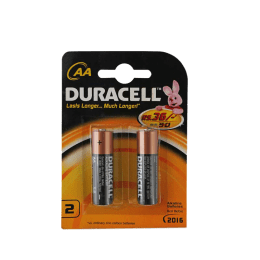 Duracell AA Alkaline Battery (Black/Gold) (Pack of 2)_1