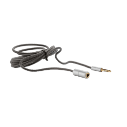 AHA 200cm 3.5mm Extension Cable (106333, Black/Silver)_1