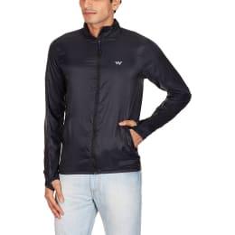 Wildcraft Zuci Wind Breaker Men's Polyester Jacket (L) (Black)_1