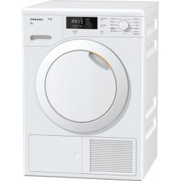 Miele 8 kg Eco Heat Pump Dryer (TKB 340 WP, White)_1