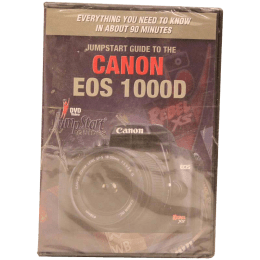 Jumpstart Training Guide CD for Canon 1000D (Brown)_1