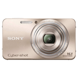 Sony Cyber Shot 16.1 MP Point & Shoot Camera (DSC-W570, Gold)_1