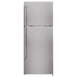 LG 420 Litres 3 Star Frost Free Inverter Double Door Refrigerator (Smart Diagnosis, GL-I472QPZX, Shiny Steel)_1