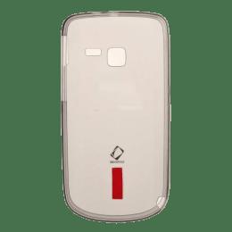 Capdase Fuze Silicone Soft Jacket Fuze Back Case Cover for Nokia C3 (Transparent)_1