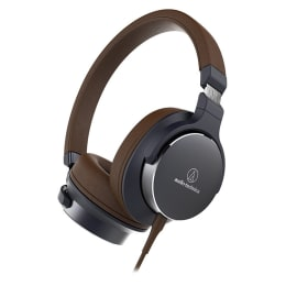 Audio-Technica ATH-SR5NBW On-Ear High-Resolution Headphone (Brown)_1
