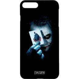 Macmerise Jokers Trump Card Polycarbonate Back Case Cover for Apple iPhone 7 Plus (IPC7PPDK0176, Black)_1