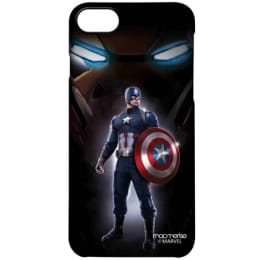 Macmerise Watchful Captain America Polycarbonate Back Case Cover for Apple iPhone 7 (IPCI7PMM0650, Multicolor)_1