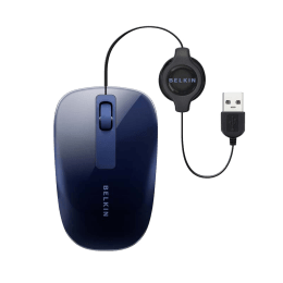 Belkin Wired Optical Mouse (Blue)_1