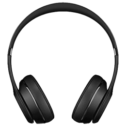 Beats Solo 3 Over-Ear Wireless Bluetooth Headphone with Mic (Siri Supported, MP582ZM/A, Black)_1