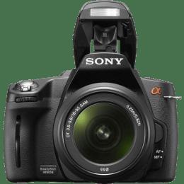 Sony 14.2 MP DSLR Camera Body with 18 - 55 mm Lens (A390L, Black)_1