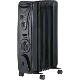 Usha 2000 Watt Oil Filled Room Heater (OFR 3509F, Black)_1