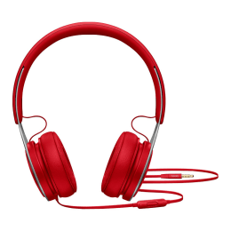 Beats EP On-Ear Wired Headphones with Mic (ML9C2ZM, Red)_1