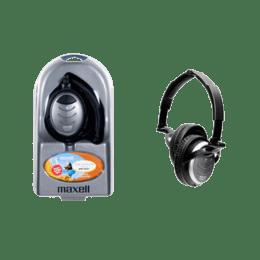 Maxell On-Ear Headphones (MHP-NC 01, Black/Silver)_1
