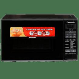 Panasonic 20 Litres Solo Microwave Oven (Digital Control, NN-ST266BFDG, Black)_1