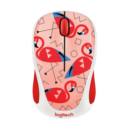 Logitech M238 1000 DPI Wireless Mouse (Flamingo)_1
