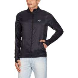 Wildcraft Zuci Wind Breaker Men's Polyester Jacket (XL) (Black)_1
