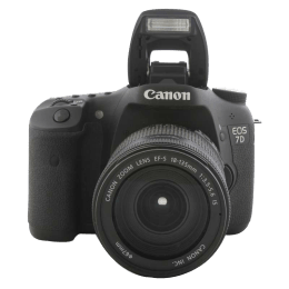 Canon 18 MP DSLR Camera Body with 18 - 135 mm Lens (EOS 7D, Black)_1