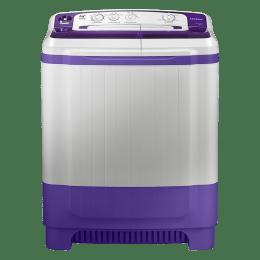 Samsung 8.5 kg Semi Automatic Top Load Washing Machine (WT85M4200HB/TL, White)_1