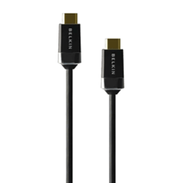 Belkin 200 cm HDMI (Type-A) High Speed and Ethernet HDMI Cable (Black)_1