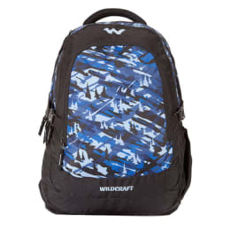 Wildcraft 35 Litres Travle Backpack (Camo 4 B, Blue)_1