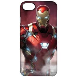 Macmerise Ironman Team Red Polycarbonate Back Case Cover for Apple iPhone 7 (IPCI7PMM0602, Multicolor)_1