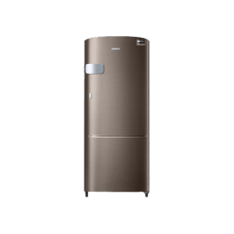 Samsung 192 L 4 Star Direct Cool Single Door Inverter Refrigerator (RR20R1Y2YDX/HL, Brown)_1