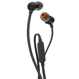 JBL Tune In-Ear Wired Earphone with Mic (Tangle-free Flat Cable, 110, Black)_1