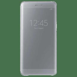 Samsung Galaxy Note 7 Clear View Full Cover Case (EF-ZN930CSEGIN, Silver)_1