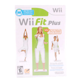 Wii Game (Fit Plus Software)_1