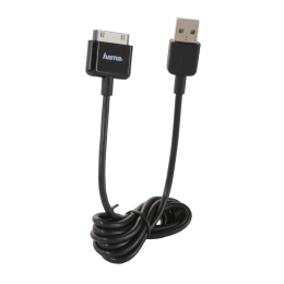 AHA USB 2.0 (Type-A) to RCA USB Cable (106340, Black)_1