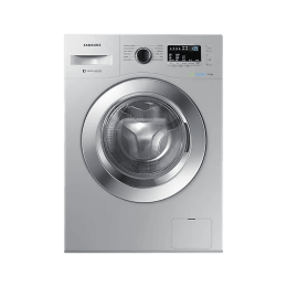 Samsung 6.5 kg Fully Automatic Front Loading Washing Machine (WW65M224K0S, Silver)_1