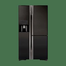 Hitachi 651 Litres R-M700AGPND4X Side-By-Side Refrigerator (Black)_1