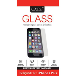 Catz Tempered Glass Screen Protector for Apple iPhone 7 Plus (CZ-AI7PS-TG, Transparent)_1