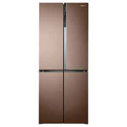 Samsung 594 Litres Frost Free Inverter Side-by-Side Door Refrigerator (Triple Cooling, RF50K5910DP/TL, Refined Bronze)_1