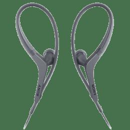 Sony Sports In-Ear Wired Earphones with Mic (MDRAS410AP, Black)_1