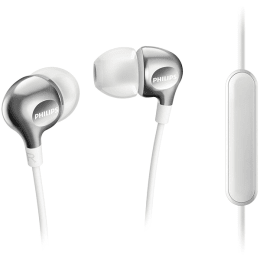 Philips In-Ear Wired Earphones with Mic (SHE3705, White)_1
