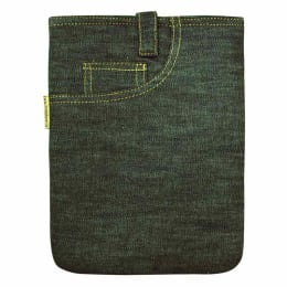 """Clean Planet Mini Denim Sleeve for 7"""" Tablets (TABSLEEVE04, Green)_1"""