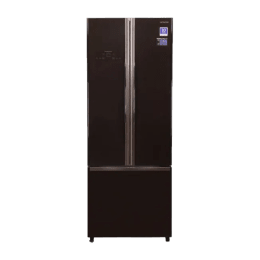 Hitachi WB480PND2 456 L Frost Free French Door Refrigerator (Brown)_1