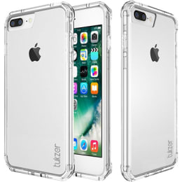 Tukzer Candy Grip Glass Back Case Cover for Apple iPhone 7 (TZ-MC-701-TRNS, Transparent)_1